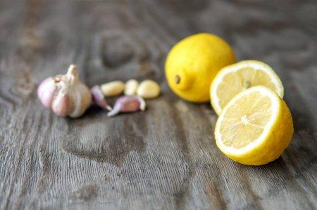 فوائد الثوم مع الليمون