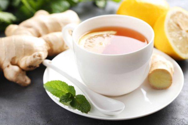 فوائد الشاي الأخضر مع الزنجبيل لصحة الجسم