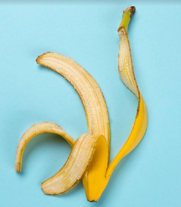 قشر الموز والإنتصاب